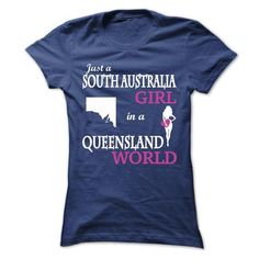 Just A South Australia - Queensland V^1^ - #thank you gift #student gift. SECURE CHECKOUT => https://www.sunfrog.com/LifeStyle/Just-A-South-Australia--Queensland-V1-Ladies.html?68278