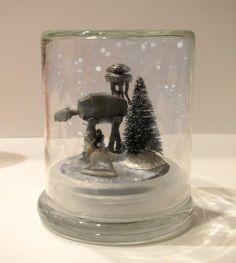 DIY Hoth Snowglobe