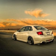 Ride that subie into the sunset !