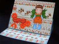 Márcia - cartões: Para o Natal 4 - Wrapped Tilda