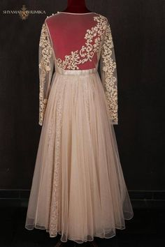 Shamyl & Bhumika cream dress