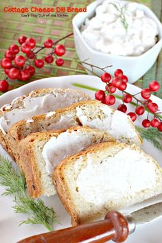 Cottage Cheese Dill Bread | Can't Stay Out of the Kitchen | this tasty breadmaker bread uses dillweed cottagecheese and dehydrated onions for wonderful, savory flavor.