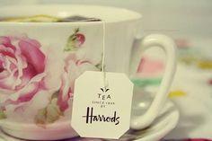 Tea at Harrods
