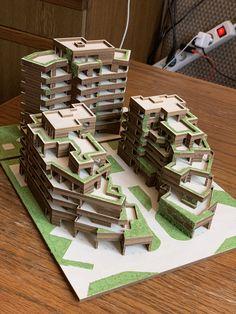Nice maquette – My World Maquette Architecture, Architecture Design, Architecture Model Making, Architecture Magazines, Concept Architecture, Futuristic Architecture, Residential Architecture, Amazing Architecture, Enterprise Architecture