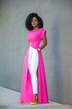 Women fashion For Work Professional Attire 2019 - - Women fashion Evening Chic - - - Women fashion Black Shirt Fashion Pants, Look Fashion, Trendy Fashion, Fashion Outfits, Fashion Black, Classy Dress, Classy Outfits, Stylish Outfits, African Fashion Dresses