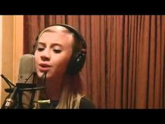 "12 Year Old Lauren Marie Presley - Elvis Relative - Singing ""A Little Bi...sounds mature for 12..xo"