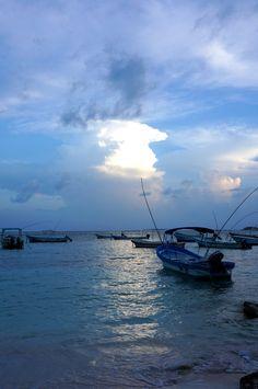 Akumal Mexico...Sunset