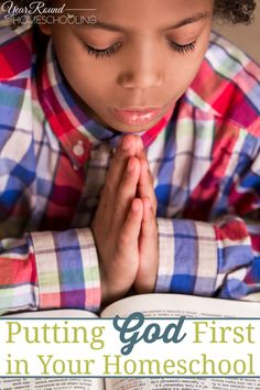 Putting God First in Your Homeschool - By Tara Johnes Wohlford