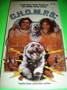 C.H.O.M.P.S. BY VIC CRUME 1979 MOVIE PB BOOK