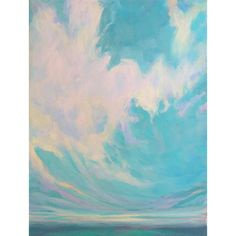 "Affordable art for any space – small canvas originals – ""Into the Clear"""