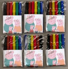 Peppa Pig party favours