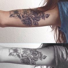 Absolutely amazing. #tattoos #tattoo #littletattoos #flowertattoos
