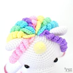 CROCHET PATTERN in English and Spanish Mimi the Friendly