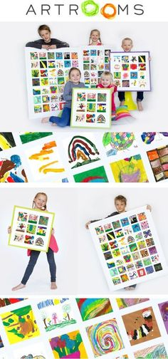 When my son started preschool I made a silent promise to myself that I would keep every single piece of artwork he created so he could see it all when he was ol Diy With Kids, Art For Kids, Crafts For Kids, Arts And Crafts, Diy Crafts, Displaying Kids Artwork, Artwork Display, Kids Art Storage, Storage Ideas