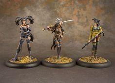 malifaux rotten belles - Google Search