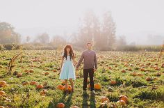 With Halloween coming up next week, we bet a bunch of you have plans to spend this weekend picking out + carving pumpkins! So naturally, Jenafer + Morgan's crazy cute engagement session in a pumpkin patch is the perfect way to get in the spirit of the season. These cuties roamed around on Sauvie Island (in Portland, Oregon) with their rad […]