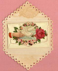 a sweet vintage valentine