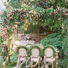 Enchanted by this hidden garden styled wedding inspiration by Holly Heider Chapp. Enchanted Garden Wedding, Garden Party Wedding, Garden Parties, Tea Parties, Spring Wedding, Wedding Aisle Decorations, Wedding Themes, Wedding Ideas, Wedding Dresses