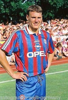 Alexander Zickler Bayern München 1995-96 seltenes Foto