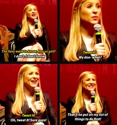 Jessica Capshaw is so adorable I'm losing it. I love her so much, oh my word.