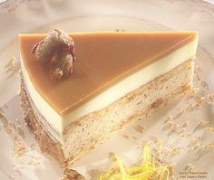 Milotai mézes diótorta (2013-ban az Ország tortája)