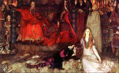 Ophelia, Edwin Austin Abbey,Hamlet Source :http://americangallery.wordpress.com/2012/09/23/edwin-austin-abbey-1852-1911-2/