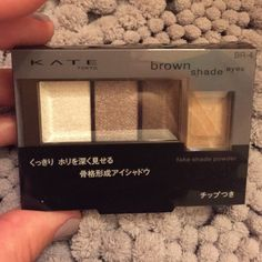 "Kate TOKYO Brand new in box Eyeshadow Kate TOKYO eyeshadow in ""brown shade"" brand new in box. Purchased in Japan. Kate Tokyo Makeup"