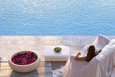 """Spending time with ME at a resort"" - (Yria Resort, Paros Luxury Resort, Beachfront Hotel, Greece).   #favourite"