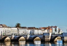 Cidade de Tavira - Old port in Portugal