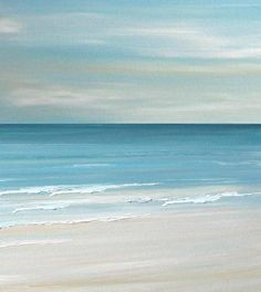 beach paintings print
