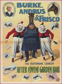 cartazes de circo antigos - Pesquisa Google