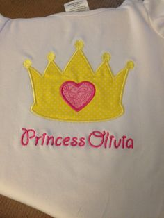 Princess crown shirt