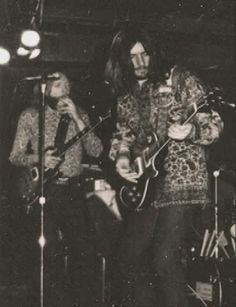 Duane Allman and Dickey Betts The Allman Brothers Band at The Warehouse, New Orleans, Louisiana December 31, 1970