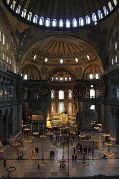 Istanbul, Aghia Sophia by Pecorella_Bertina, via Flickr