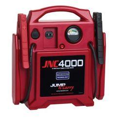 Clore Automotive JNC4000 1100 Peak amp 12V Portable Jump Starter http://jumpstartersguide.com/clore-automotive-jnc4000-1100-peak-amp-jump-starter-review/