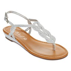 Unisa Fisher Wholesale Unisa Lorainy Glitter T Strap Sandals | Shoes and Footwear