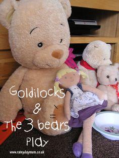 Goldilocks and the three bears play