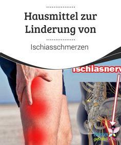 Hausmittel zur #Linderung von Ischiasschmerzen   Der #Ischiasnerv ist der längste unseres #Körpers, wenn er entzündet ist, kann er sehr unangenehme #Schmerzen verursachen, die bis in die Beine und zum Teil bis in die #Zehenspitzen zu spüren sind. Ischiasschmerzen treten relativ häufig auf und können den Alltag sehr stark beeinflussen.