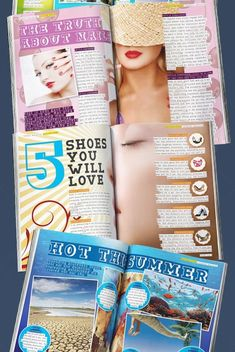 Creative ways to design a two-page spread from one page material!