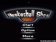 Basketball Shot  Android Game - playslack.com , In this game you should propel basketball balls into a container.  It should be done not only precisely, but also quickly, with each next stage it will be more and more arduous to do it.  From a definite time the container starts moving. You can contest not only with yourselves, but also with other players.
