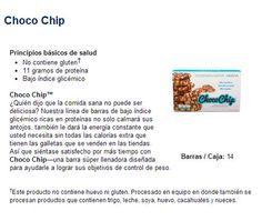 Chocochip USANA. Delicioso bocadillo de proteína con bajo índice glicémico.