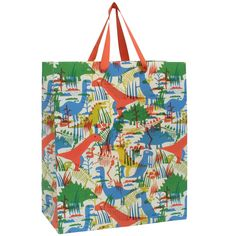 dinosaurs large gift bag from Paperchase