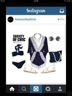 Swimsuit lounging. Ig lovesocietyofchic