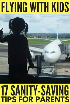 If you're flying with kids in the near future, you need to read this collection of sanity-saving travel tips! Whether you're traveling with your baby for the first time, need carry on packing lists to help prepare for every eventuality, want a list of goo