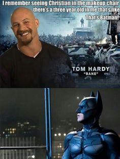 "Tom Hardy ""Bane"" ~ Batman"