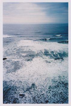 """I need the sea because it teaches me."" — Pablo Neruda"