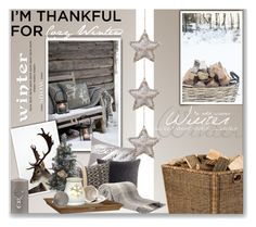 """""""I'm Thankful for Cozy Winters"""" by anna-anica ❤ liked on Polyvore"""