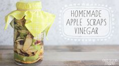 Apple Scraps Vinegar