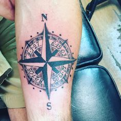 My #compass tattoo