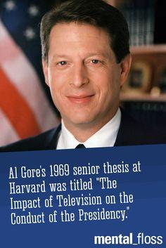 Al Gore college visionary